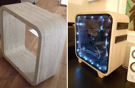 diy pc i made a computer out of wood bored panda