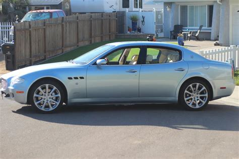2005 Maserati Quattroporte 4 Door Sedan 180721