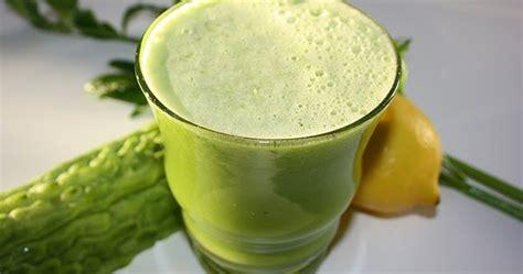 artikel membuat jus manfaat jus pare bagi kesehatan