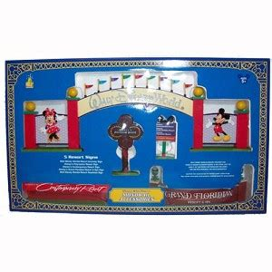 your wdw store disney figurine set monorail