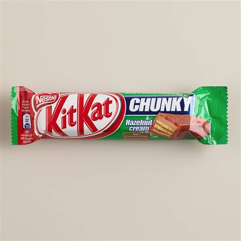 Nestle Kitkat Chunky Bar nestle kit chunky hazelnut bar world market