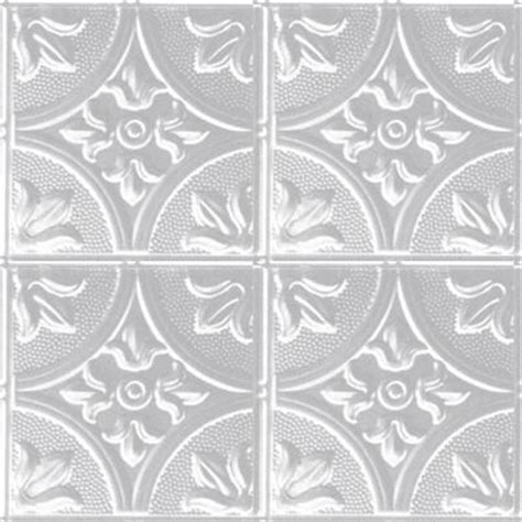 ceiling tiles home depot shanko 309 white plated steel 2 ft x 4 ft nail up ceiling tile w309 4 the home depot
