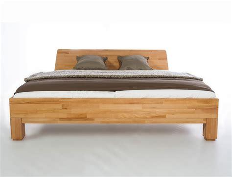 Nachttisch Bett Einhängen by Bett Rino Nachttisch Kernbuche Ge 246 Lt Massivholz Holzbett