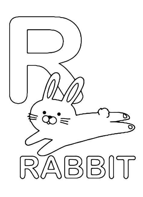 lettere e numeri lettere e numeri lettera r in statello di rabbit
