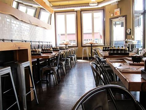 chicago style restaurants industrial style bbq restaurant in chicago redbird