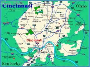 us map cincinnati cincinnati map travel map vacations travelsfinders
