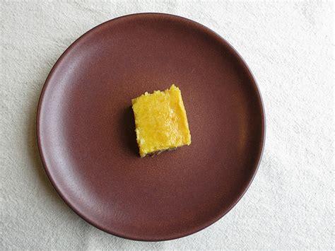 gluten dairy free meyer lemon bars with gingersnap crust