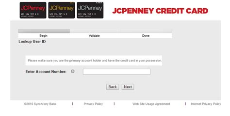 credit card make a payment jcpenney credit card login bill payment