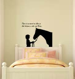 horse decal horse sticker quote decal horse wall decor quote wall stickers animals horse silhouette 2682en