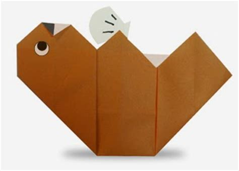Otter Origami - sea otter easy origami for