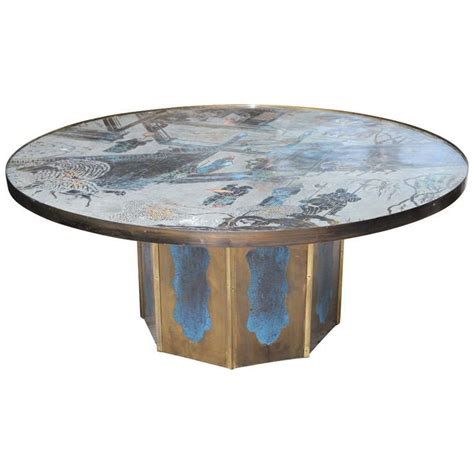 Quot Chan Quot Coffee Table By Philip And Kelvin Laverne At 1stdibs Laverne Coffee Table