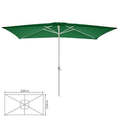 ombrelloni da terrazzo rettangolari ombrellone da giardino terrazzo balcone rettangolare 3x2