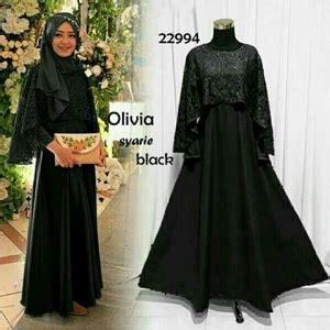 Fashion Muslim Maxi Brukat Rosalinda Maroon Murah model baju gamis dress muslim cape brukat modern terbaru