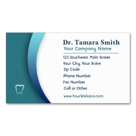 the office business card template 71 best dental dentist office business card templates