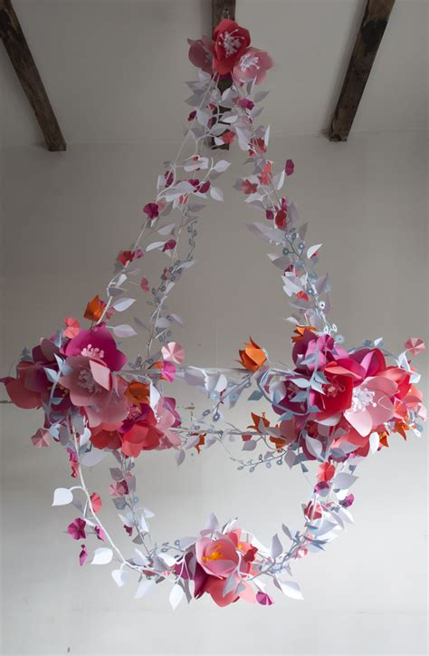 Decorative Chandeliers For Every Wedding Theme Paper Paper Chandelier Decoration