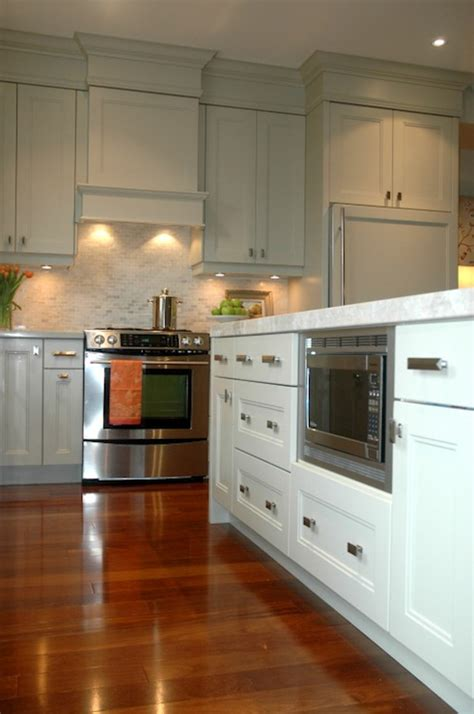 Grey Green Kitchen Cabinets Paint Gallery Benjamin Hazy Skies Paint Colors And Brands Design Decor Photos