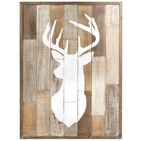 Pier One Bathroom Wall Decor Wood Patchwork Deer Wall Decor From Pier 1 Imports New