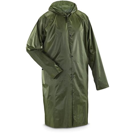 Raincoat Bag style raincoat with carry bag 618897 tactical