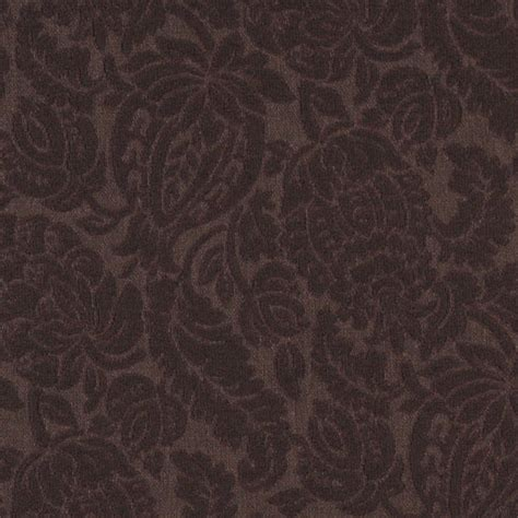 Matelasse Upholstery Fabric by Brown Large Scale Floral Woven Matelasse Upholstery Grade
