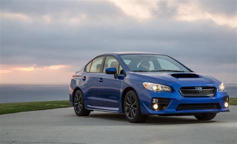 2015 subaru wrx car and driver