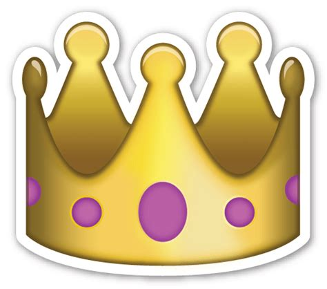 emoji wallpaper crown crown emoji background www imgkid com the image kid