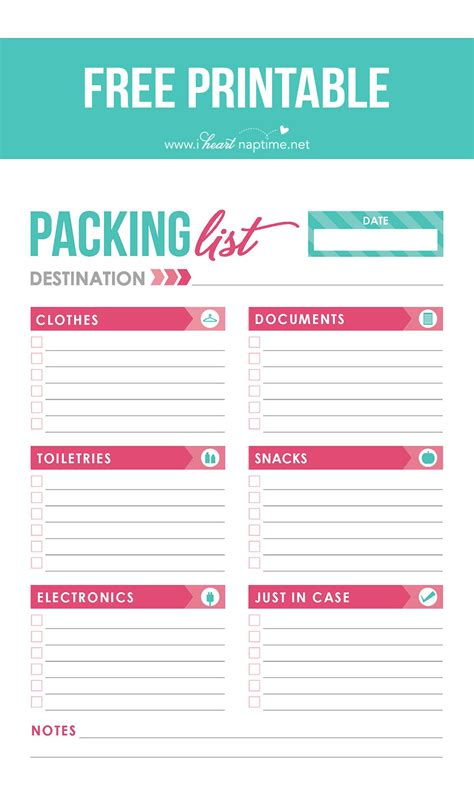 free printable travel packing checklist 10 essential travel tips free printable packing list i