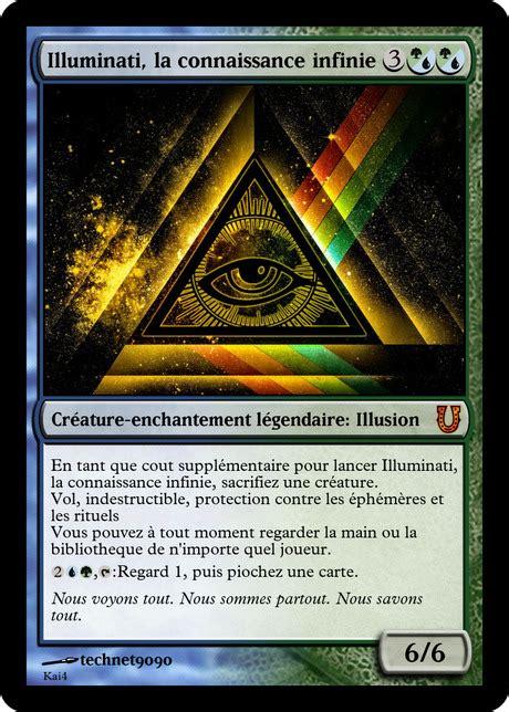 illuminati carte illuminati confirmed magic the gathering