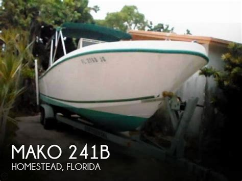 boats for sale homestead florida sold mako 241b boat in homestead fl 085662