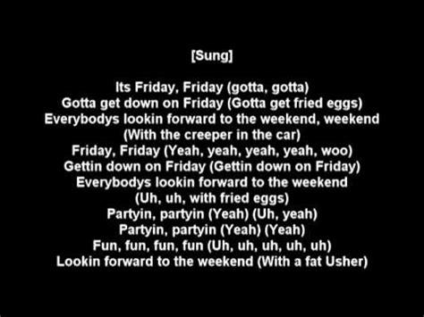 rebecca black friday (rap remix) w/ lyrics youtube