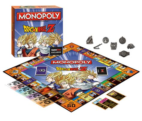 How To Add Money To Gamestop Gift Card - monopoly dragon ball z edition only at gamestop for card board games gamestop