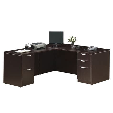 Standard Office Desk Standard L Desk Deluxe Files Office Furniture Ez
