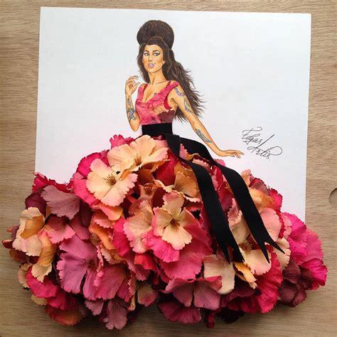 design real clothes armenian illustrator creates amazing dress designs using