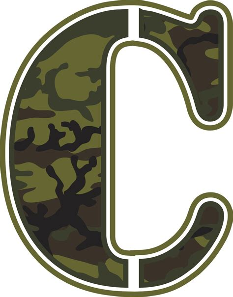 5 Letter Words Y O U T H green camo wall letters baby n toddler