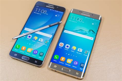 galaxy note galaxy note 5 and s6 edge review big premium phones