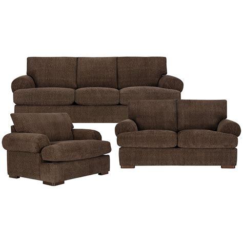 city furniture belair dk brown microfiber sofa