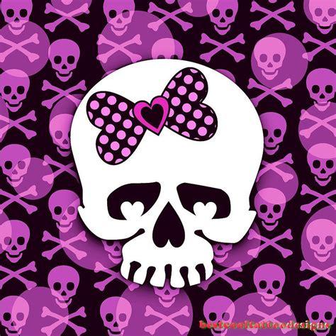 girly skulls tattoo designs best cool tattoo designs