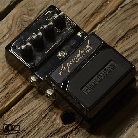 Supernatural Tuner by Digitech Hardwire Supernatural Reverb Used W Box Reverb