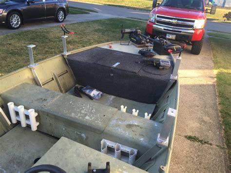 rod holders for aluminum jon boats 17ft jon boat ohio game fishing your ohio fishing resource