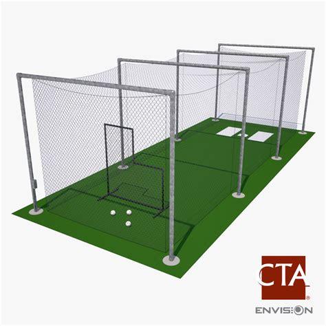 Backyard Batting Cage Plans Batting Cage Baseball Max