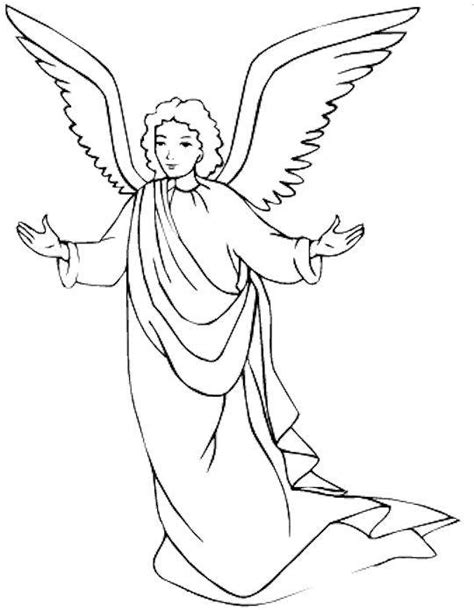 coloring pages of guardian angels free printable angel coloring pages for kids