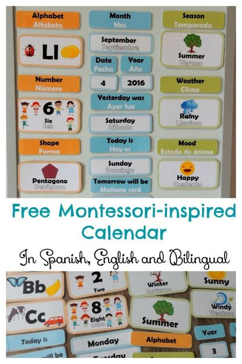 printable montessori flashcards 17 best images about language spanish for kids on