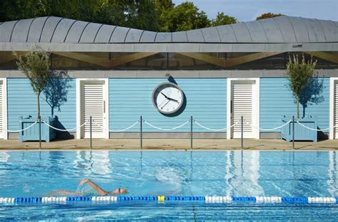 schwimmbad club the hurlingham club outdoor pool in e architect