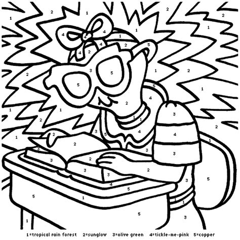 crayola coloring pages numbers school days crayola co uk