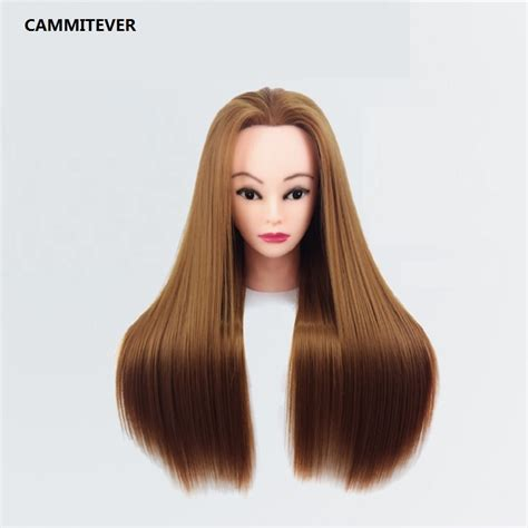 blonde mannequin hairstyles with rubber bands professional styling head makeup mannequin head manikin