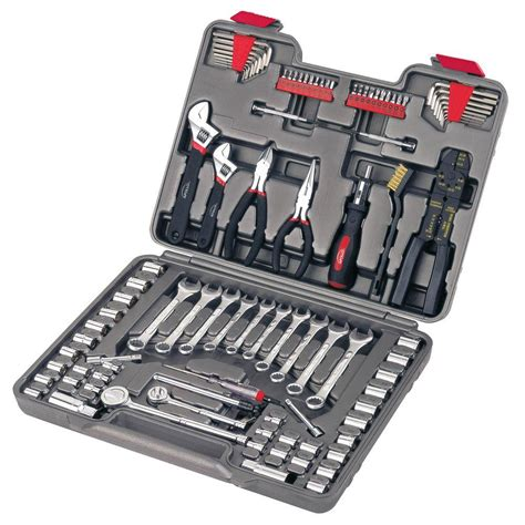tool sets apollo 95 mechanics tool kit dt1241 the home depot