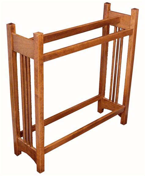 Cherry Quilt Rack by Mission Quilt Rack Cherry Amish Direct Furniture