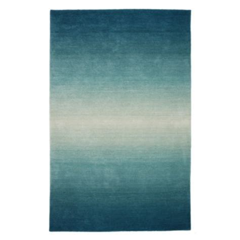 teal ombre rug ombre rug inspiration