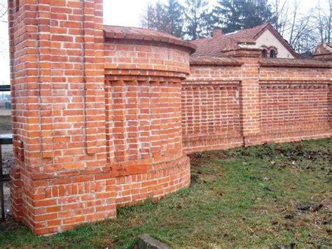 gartenmauer backstein mauer 25 x 12 x 6 5 cm reichsformatziegel