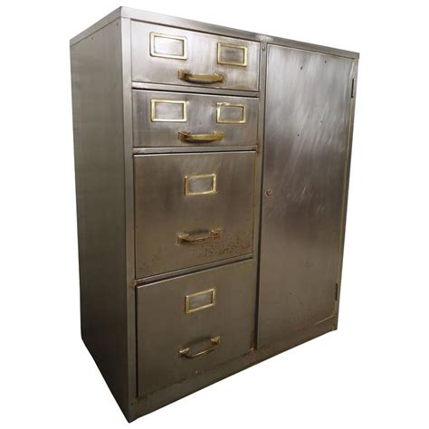 old fashioned metal file cabinet industrial metal file cabinet for sale at 1stdibs