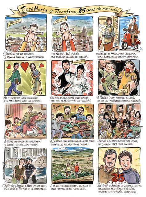 25 aos de caricaturas 1516838211 regalo original 25 a 241 os de casados caricaturas aucas retratos ilustraciones